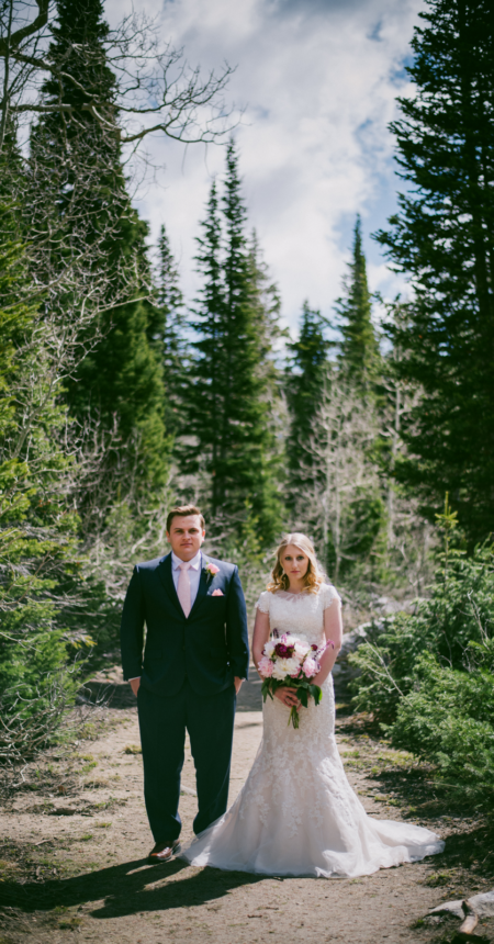 Anika and Evan | Salt Lake City, Utah bridal photographer